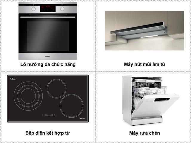Bếp nhỏ vẫn rộng thoáng nếu bạn biết áp dụng những chiêu này - Ảnh 4.
