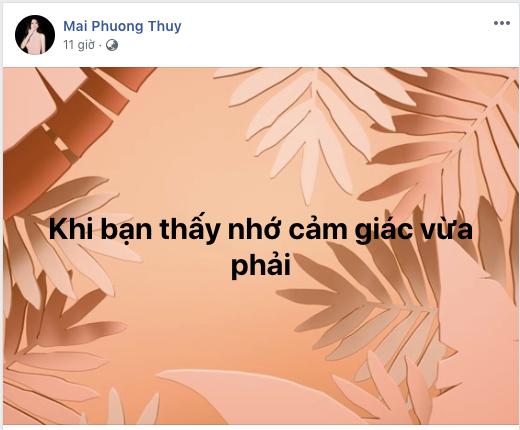 Sau khi công khai chuyện yêu đương, giờ Mai Phương Thúy chỉ than nhớ vu vơ, Noo Phước Thịnh lập tức bị gọi tên - Ảnh 1.