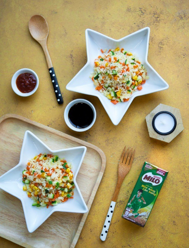Bữa sáng cân bằng cho bé với những gợi ý hữu ích từ gia đình sao Việt - Ảnh 6.