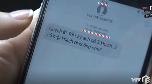 Thật thần kỳ: Quỳnh Búp Bê nhận được tin nhắn hẹn đi khách... đến từ tương lai - Ảnh 3.
