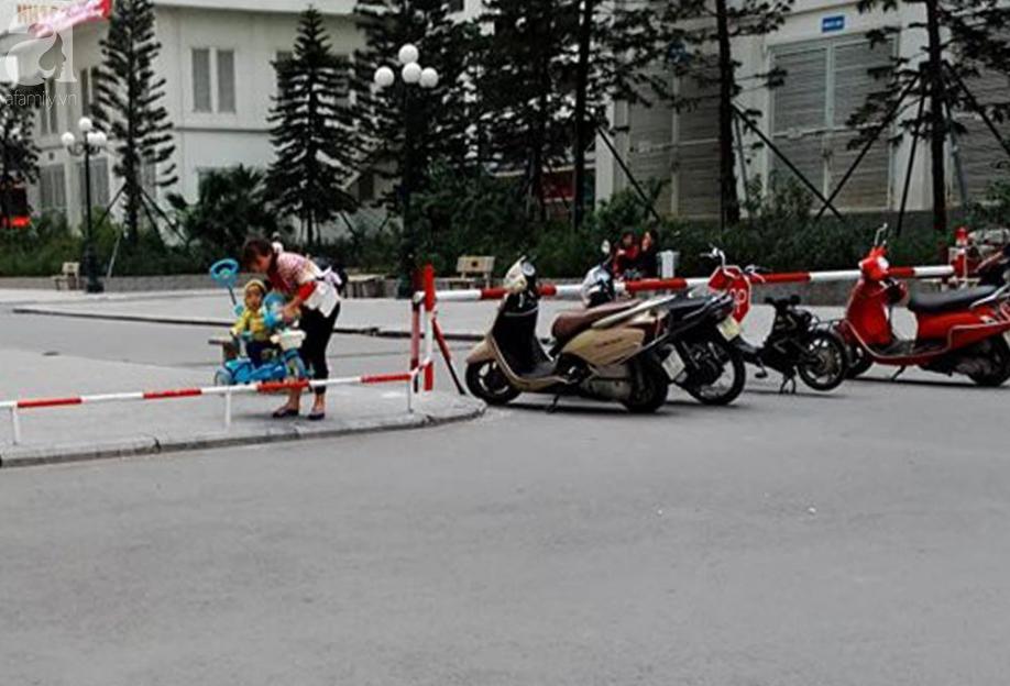 Tranh cãi gay gắt giữa cư dân và nhóm ki-ốt kinh doanh tại chung cư HH Linh Đàm - Ảnh 4.