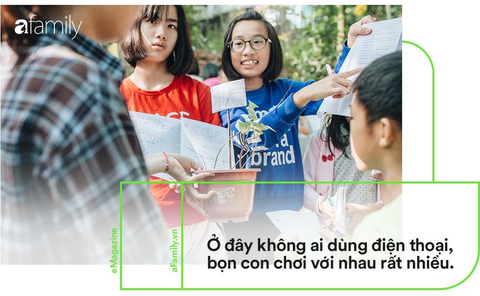 Ngôi trường đồi cách Hà Nội 40km, nơi con trẻ được thoải mái vẫy vùng và bỏ xuống gánh nặng điểm số - Ảnh 12.