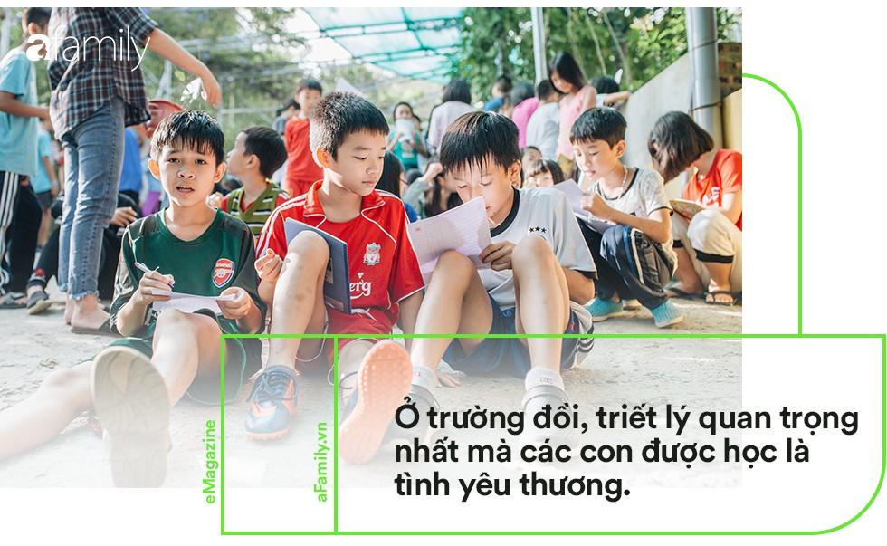 Ngôi trường đồi cách Hà Nội 40km, nơi con trẻ được thoải mái vẫy vùng và bỏ xuống gánh nặng điểm số - Ảnh 4.