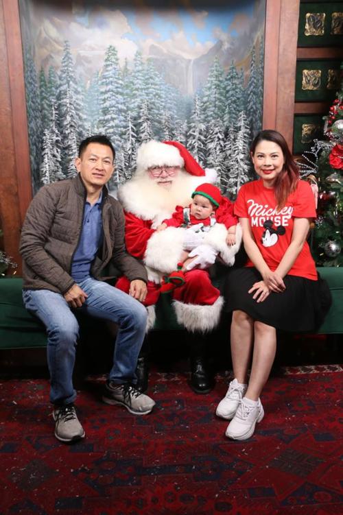 Ngắm loạt nhóc tỳ nhà sao Việt cực dễ thương trong loạt ảnh Giáng sinh, bất ngờ nhất là cô tiểu thư này - Ảnh 6.