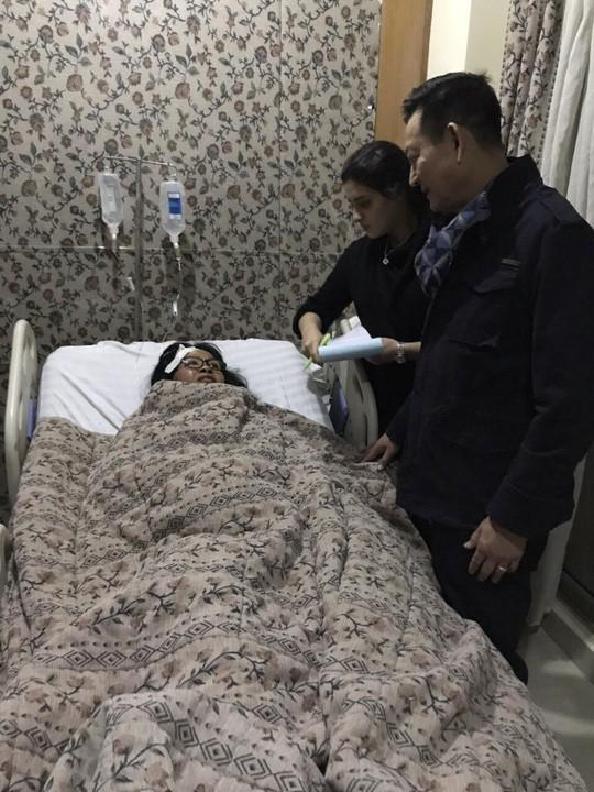 Xe chở 14 du khách Việt bị đánh bom tại Ai Cập lúc đang trên đường đi ăn tối trước khi ra sân bay về nước - Ảnh 1.