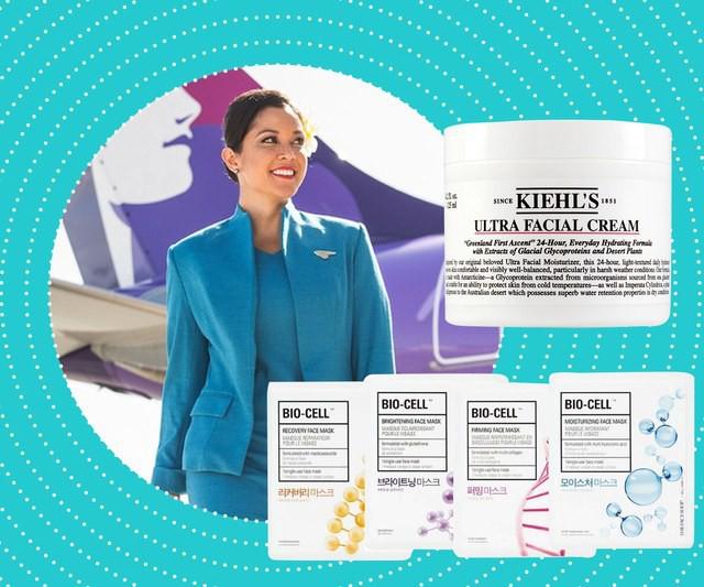 Muốn biết đâu là sản phẩm dưỡng ẩm đỉnh nhất, ta chỉ việc hỏi các tiếp viên hàng không xem họ dùng gì - Ảnh 2.