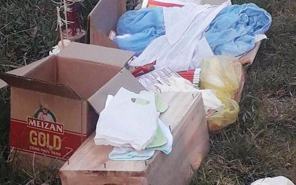 Thanh Hóa: Người dân phát hiện thi thể trẻ sơ sinh còn nguyên dây rốn cạnh trường trung học