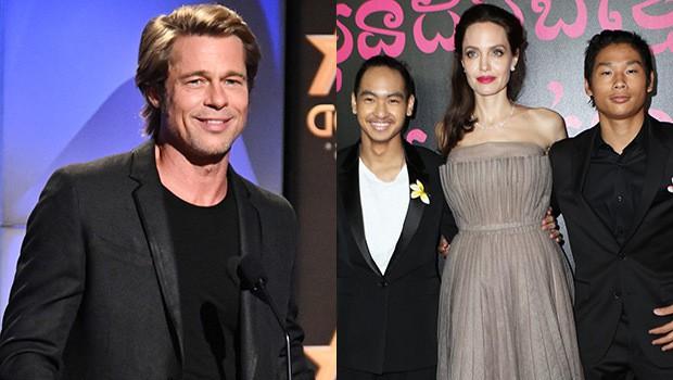 Quan hệ của Brad Pitt và 2 con trai Pax Thiên, Maddox đã được cải thiện đáng kể từ sau cuộc ly hôn thế kỷ - Ảnh 1.
