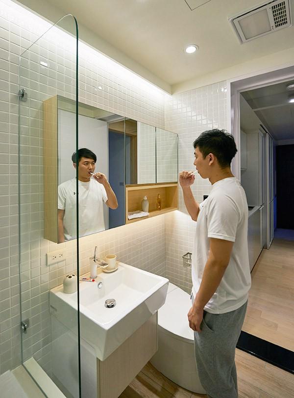 Chàng trai quyết rời nhà bố mẹ, dọn ra ở riêng trong căn hộ nhỏ xinh theo phong cách Nhật - Ảnh 13.