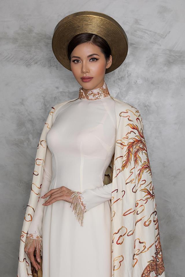 Minh Tú được trao cúp Hoa hậu Siêu quốc gia 2018 do khán giả bình chọn - Ảnh 5.