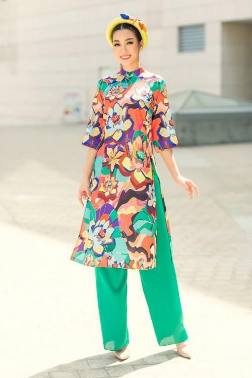 Bật mí cho 'nàng điệu' 5 kiểu áo dài 'thần thánh' vừa đẹp lại vừa thoải mái diện Tết - Ảnh 2.