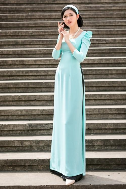 Bật mí cho 'nàng điệu' 5 kiểu áo dài 'thần thánh' vừa đẹp lại vừa thoải mái diện Tết - Ảnh 11.