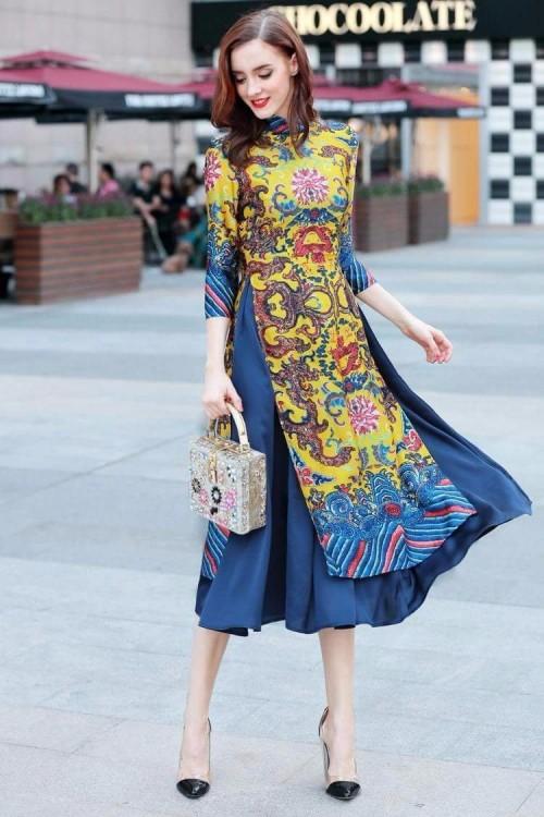 Bật mí cho 'nàng điệu' 5 kiểu áo dài 'thần thánh' vừa đẹp lại vừa thoải mái diện Tết - Ảnh 17.