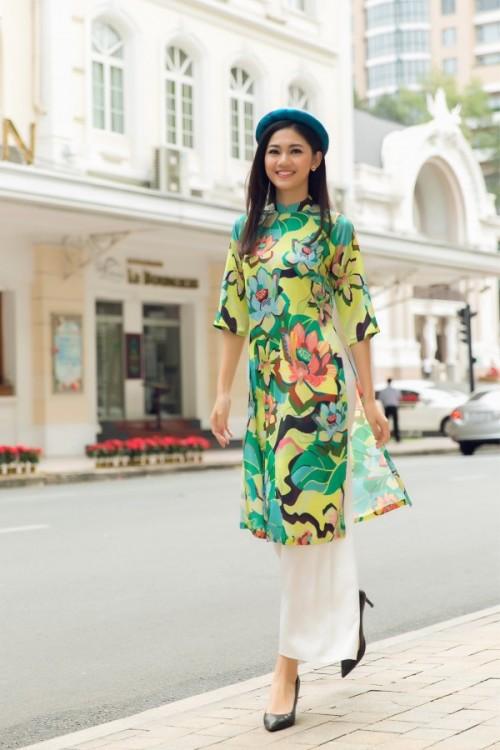 Bật mí cho 'nàng điệu' 5 kiểu áo dài 'thần thánh' vừa đẹp lại vừa thoải mái diện Tết - Ảnh 3.