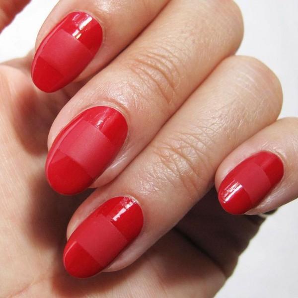 22 mẫu nail đỏ 'vừa đẹp vừa sang' cho nàng tỏa sáng trong dịp Tết Mậu Tuất 2018 - Ảnh 9.