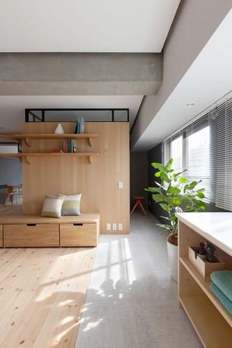 Căn hộ nhỏ rộng gấp đôi nhờ biết cách sắp xếp nội thất - Ảnh 2.