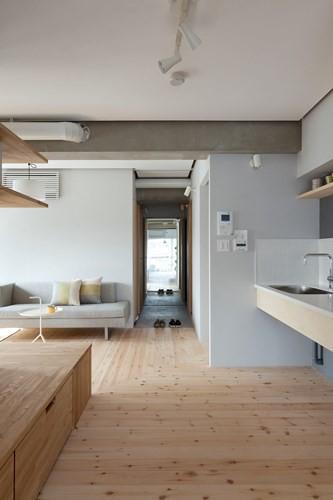 Căn hộ nhỏ rộng gấp đôi nhờ biết cách sắp xếp nội thất - Ảnh 5.