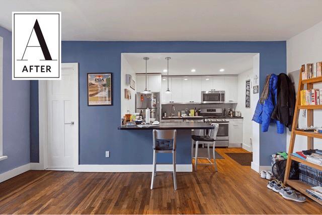 Phòng bếp vừa chật, vừa xấu lột xác hoàn toàn nhờ những thủ thuật cực dễ làm - Ảnh 2.