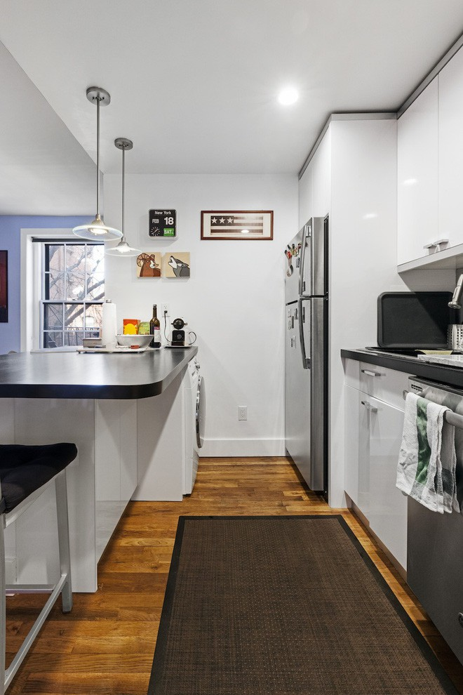 Phòng bếp vừa chật, vừa xấu lột xác hoàn toàn nhờ những thủ thuật cực dễ làm - Ảnh 3.