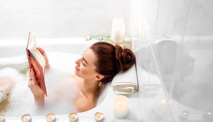 Thật tuyệt vời, hóa ra việc ngâm bồn tắm nóng thư giãn cũng giúp ...