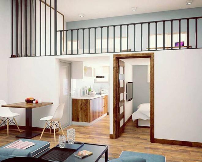 Ngắm 2 căn hộ tuy chỉ 35m² nhưng có 2 phòng ngủ đang khiến nhiều người ao ước - Ảnh 3.