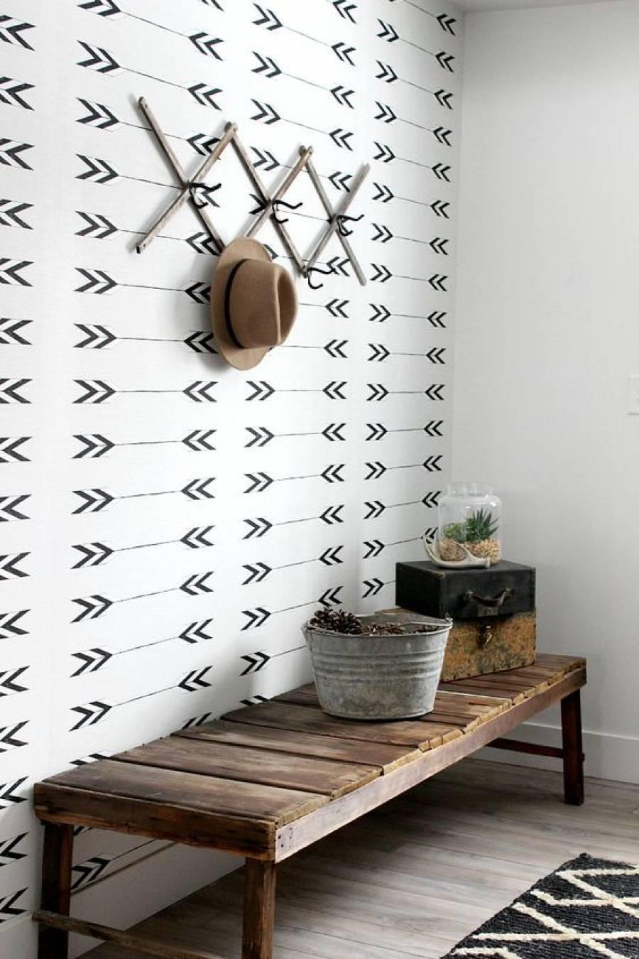 25 ý tưởng trang trí lối ra vào để không gian nhà ở của bạn thêm sống động, ấm áp - Ảnh 2.