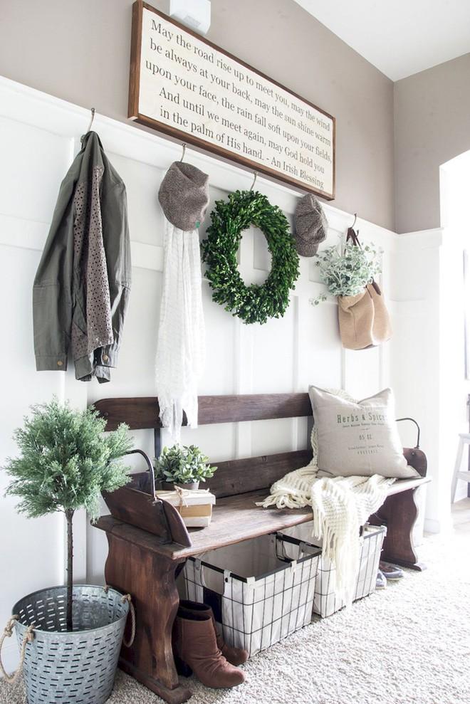 25 ý tưởng trang trí lối ra vào để không gian nhà ở của bạn thêm sống động, ấm áp - Ảnh 11.