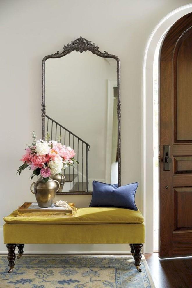 25 ý tưởng trang trí lối ra vào để không gian nhà ở của bạn thêm sống động, ấm áp - Ảnh 12.