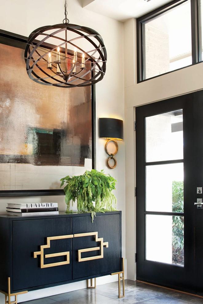 25 ý tưởng trang trí lối ra vào để không gian nhà ở của bạn thêm sống động, ấm áp - Ảnh 22.