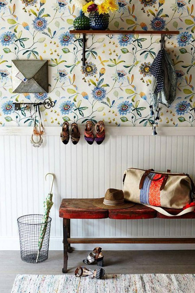 25 ý tưởng trang trí lối ra vào để không gian nhà ở của bạn thêm sống động, ấm áp - Ảnh 7.