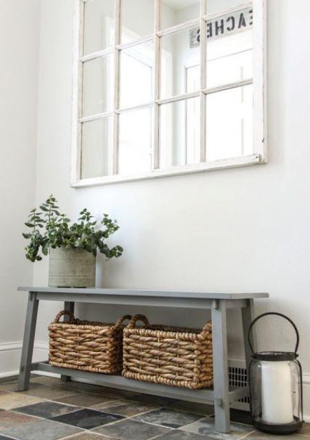 25 ý tưởng trang trí lối ra vào để không gian nhà ở của bạn thêm sống động, ấm áp - Ảnh 8.