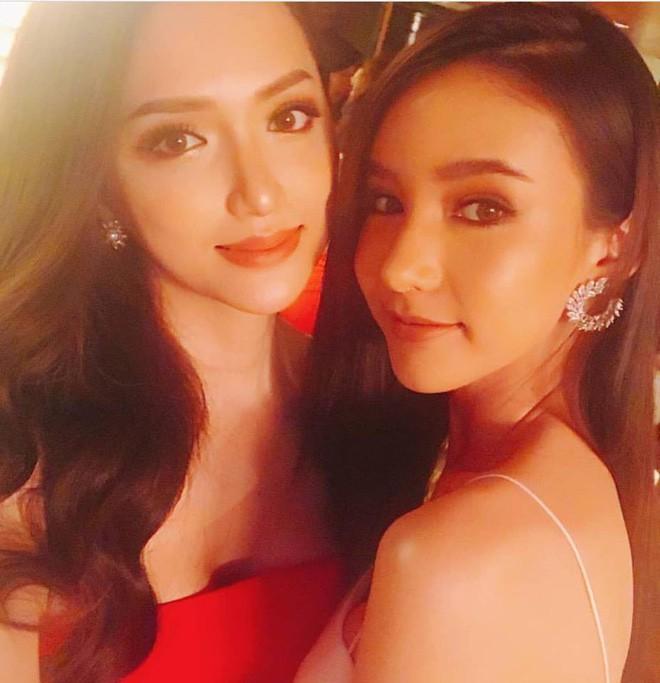 Vẻ nóng bỏng của người bạn thân nhất với Hương Giang tại Hoa hậu Chuyển giới Quốc tế - Ảnh 2.