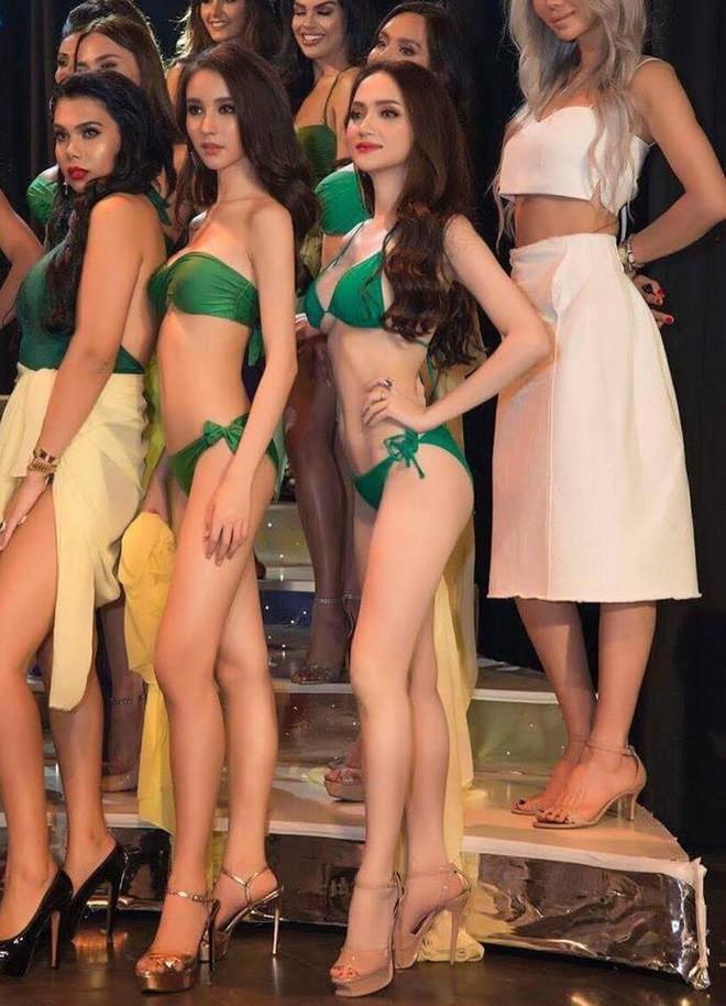 Vẻ nóng bỏng của người bạn thân nhất với Hương Giang tại Hoa hậu Chuyển giới Quốc tế - Ảnh 3.