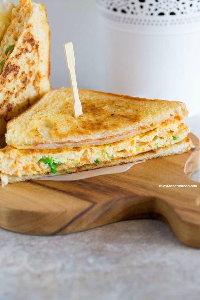 Làm bánh mì sandwich kiểu Hàn cho bữa trưa nhanh gọn đủ chất  - Ảnh 5.