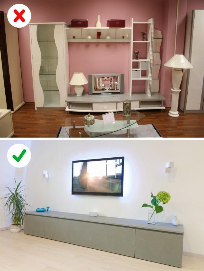 10 ý tưởng thiết kế căn hộ cao cấp đã trở nên lỗi thời, đừng dại áp dụng với ngôi nhà của bạn - Ảnh 3.