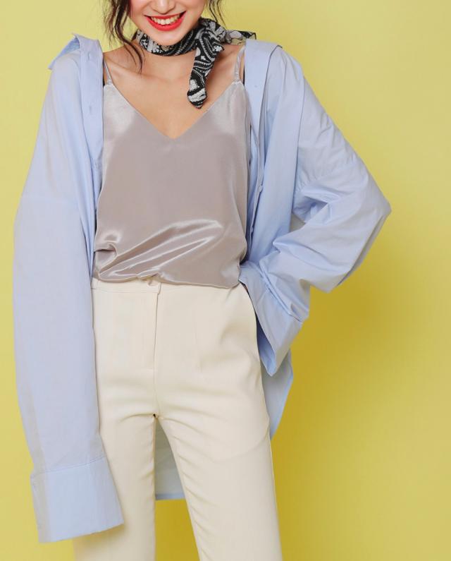 Gợi ý đầu tuần diện đồ màu xanh baby cho nàng công sở trẻ, xinh hết nấc - Ảnh 10.