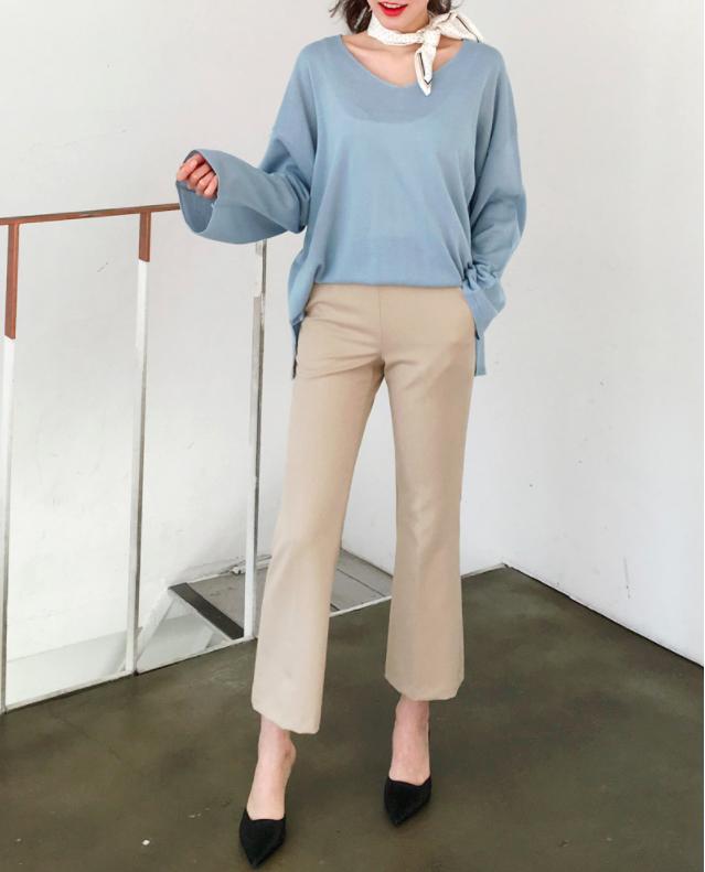 Gợi ý đầu tuần diện đồ màu xanh baby cho nàng công sở trẻ, xinh hết nấc - Ảnh 19.