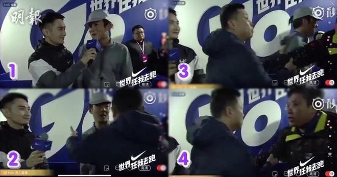 Clip: Đang lên sóng trực tiếp, Trần Quán Hy bất ngờ bị cảnh sát khống chế dẫn đi - Ảnh 3.