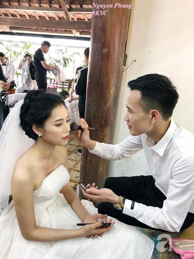 Đằng sau câu chuyện đi chụp ảnh cưới chồng đích thân trang điểm cho vợ khiến toàn MXH bị đốn tim - Ảnh 2.