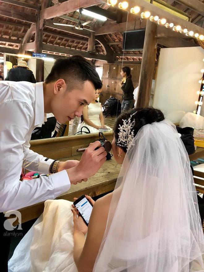 Đằng sau câu chuyện đi chụp ảnh cưới chồng đích thân trang điểm cho vợ khiến toàn MXH bị đốn tim - Ảnh 5.