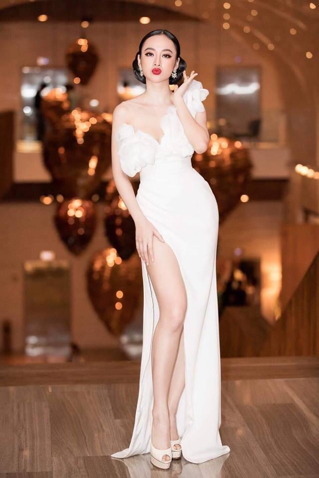 Hoa hậu Hương Giang táo bạo với đầm xẻ cao tận hông, thách thức  cả cô nàng táo bạo Angela Phương Trinh - Ảnh 5.