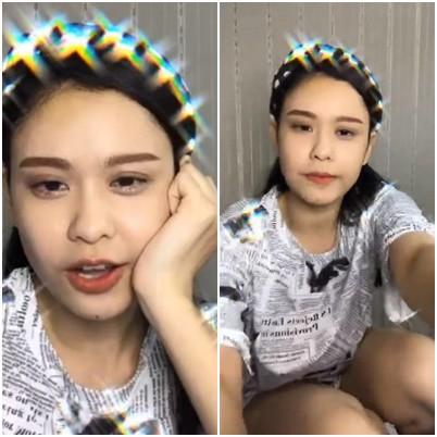 Trương Quỳnh Anh đỏ mặt vì bị lộ phần nhạy cảm khi đang livestream trò chuyện với người hâm mộ  - Ảnh 1.