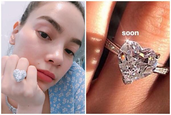 Khoe đã có nhẫn kim cương xịn nhưng Hồ Ngọc Hà lại bị bóc mẽ như mua hàng ngoài chợ - Ảnh 1.