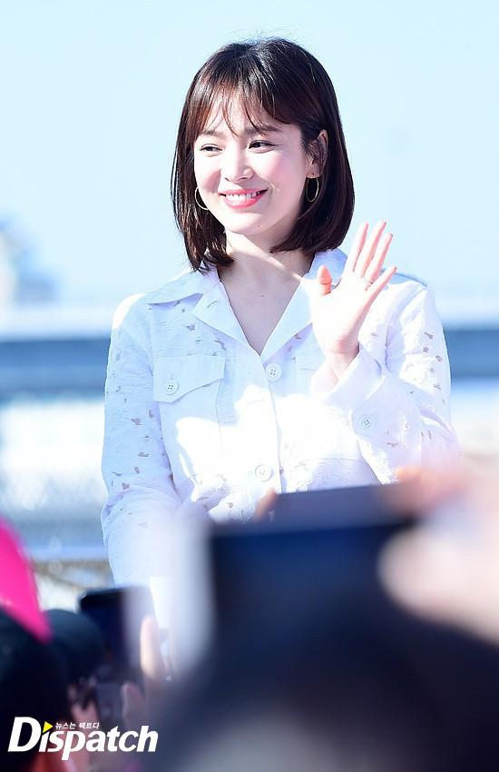 Ngọt ngào như cặp đôi Song Song: Vợ đến Busan dự sự kiện, chồng nhất quyết đi cùng để hẹn hò - Ảnh 4.