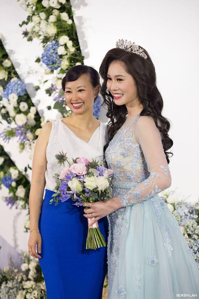 Cận cảnh đám cưới kỳ công xanh màu đại dương của Shark Hưng (Thương vụ bạc tỷ) và cô dâu Á hậu - Ảnh 10.