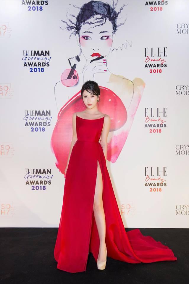 Đụng loạt váy đỏ gợi cảm, Kỳ Duyên đánh bại từ Quỳnh Anh Shyn tới Hương Giang nhờ vòng 1 đáng chú ý - Ảnh 4.
