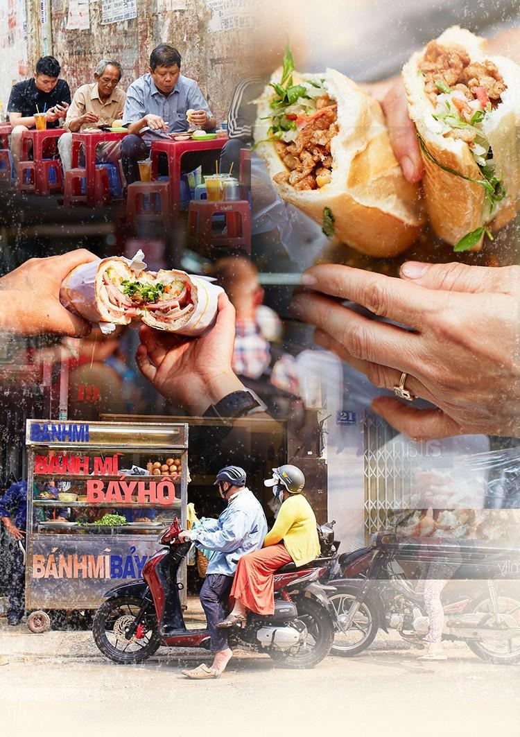 """5 tiệm bánh mì ngon trứ danh, chỉ nhắc tên đã """"nghe"""" vị Sài Gòn"""