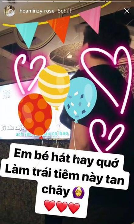 Công khai đã lâu nhưng đây là lần đầu Hòa Minzy khoe bạn trai mới trên Instagram - Ảnh 1.