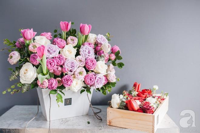 7 shop hoa tươi Hà Nội đắt xắt ra miếng, cực có gout cho dịp 8/3 - Ảnh 6.