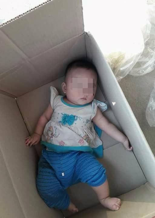 Nghệ An: Thông tin bé gái 8 tháng tuổi bị bỏ rơi trong thùng carton hoàn toàn là bịa đặt - Ảnh 2.